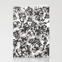 orchid Stationery Cards featuring orchid by GYYO