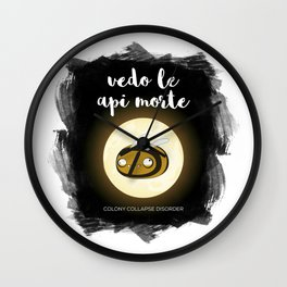 I see dead Bees Wall Clock
