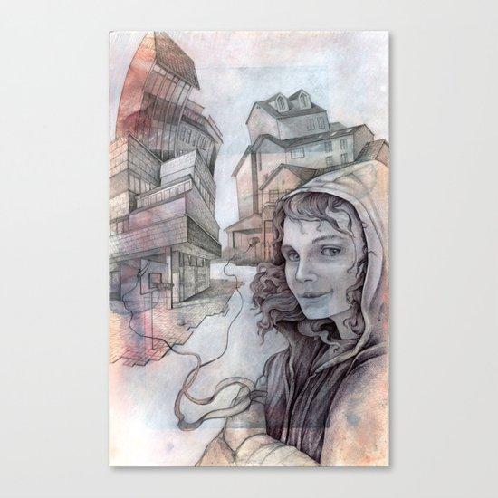dispute Canvas Print