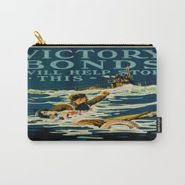 Vintage poster - Victory Bonds Carry-All Pouch