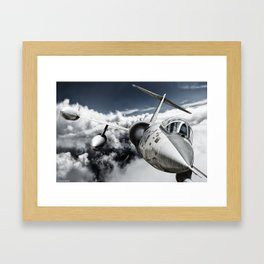 F-104 Starfighter Framed Art Print