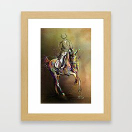 Lead Change. Framed Art Print