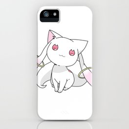 Kyubey Cat iPhone Case