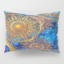 Goldflakes Pillow Sham