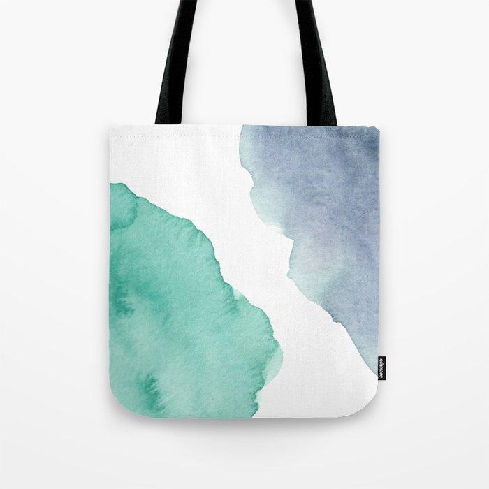 Watercolor Drops Tote Bag