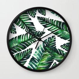 Live tropical II Wall Clock