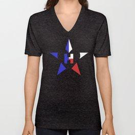 Heart for Texas Unisex V-Neck