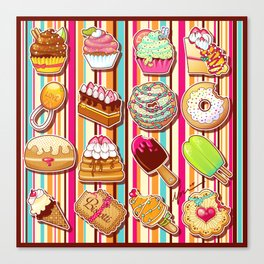 Sweeties Canvas Print