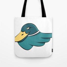 Green Mallard Tote Bag