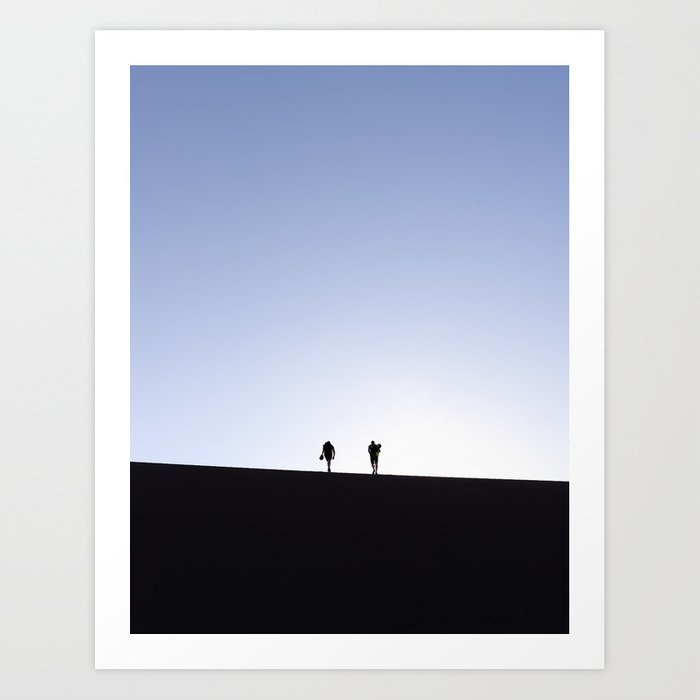 Follow the Dunes Art Print