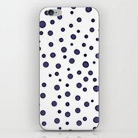 dots iPhone & iPod Skins featuring Dots by Monika Strigel
