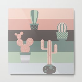 cacti colors Metal Print