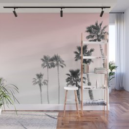 Tranquillity - pink sky Wall Mural