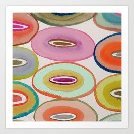 circled around Art Print