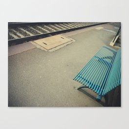 Futility: the quality of having no useful result. Canvas Print