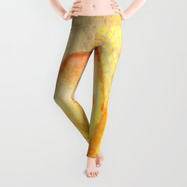 Fire Lily Leggings