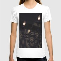 chandelier T-shirts featuring Chandelier Shadows by Elyse Victoria