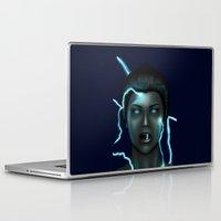 lightning Laptop & iPad Skins featuring Lightning by Egberto Fuentes