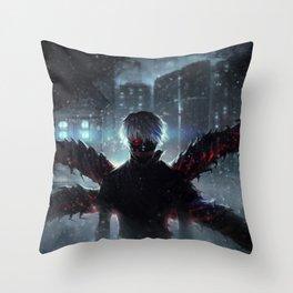 Ken Kaneki Tokyo Ghoul Throw Pillow