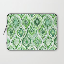 FROM WITHIN Green Moroccan Ogee Laptop Sleeve