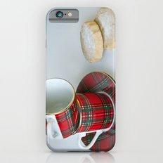 Tartan Coffee Cups & Scottish Shortbread Slim Case iPhone 6s