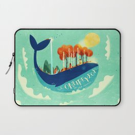 :::Tall Tree Whale::: Laptop Sleeve