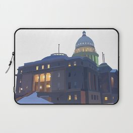 Capitol Snowfall Laptop Sleeve