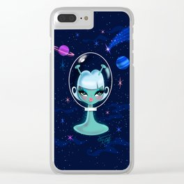 Alien Doll Clear iPhone Case
