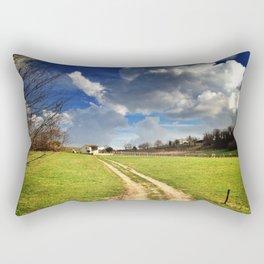 time of spring Rectangular Pillow