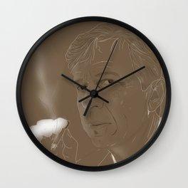 The Smoking Man Wall Clock