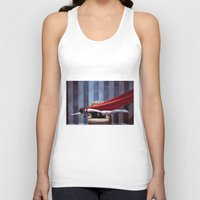 hero Tank Tops featuring HERO by Bárbara Traver