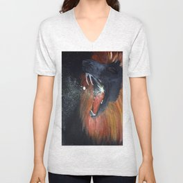 Lion's Den Unisex V-Neck