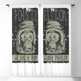 Houston - we have a Problem Blackout Curtain