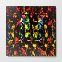 Colorful Abstract Collage Metal Print
