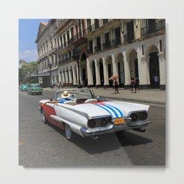 Havana 8 Metal Print