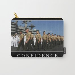 Confidence: Inspirational Quote and Motivational Poster Carry-All Pouch