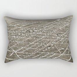 Ann Arbor - Michigan - 1880 Rectangular Pillow