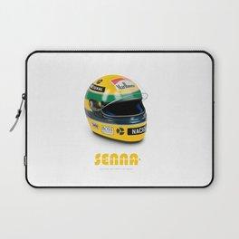 Senna - Alternative Movie Poster Laptop Sleeve
