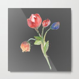 tulips (version #2) Metal Print