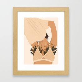 Let Your Body Breathe Framed Art Print