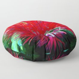 Liko Lehua - Budding Lehua Blossom Floor Pillow