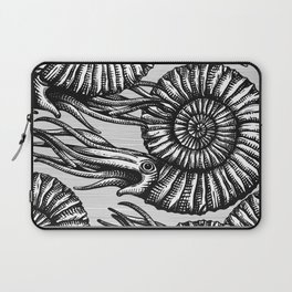 AMMONITE COLLECTION B&W Laptop Sleeve
