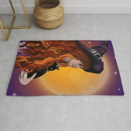 Halloween Witch Rug