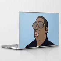 jay z Laptop & iPad Skins featuring Jay-Z by agr_artwork