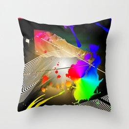 Leasing Landscape Throw Pillow