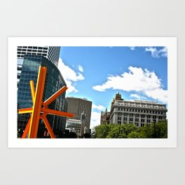 The Calling of Milwaukee Art Print