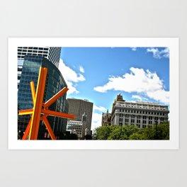 The Calling of Milwaukee Art Print