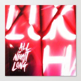 All Night Long NYC Canvas Print