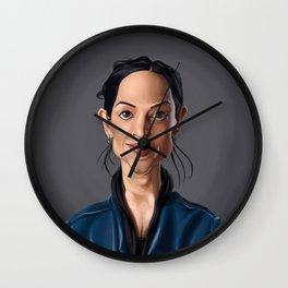 Celebrity Sunday ~ Archie Panjabi Wall Clock