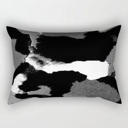 Black Is Back Rectangular Pillow